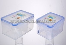Microwave Plastic food container,Made of plastic PP