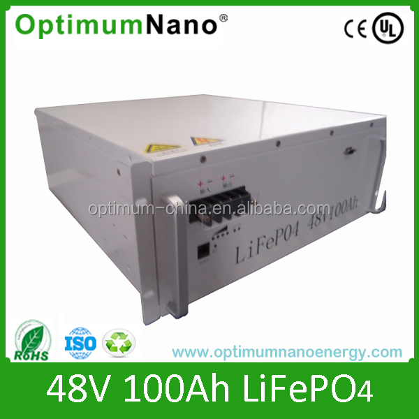 48v100ah lithium battery for electric car, ups, solar system