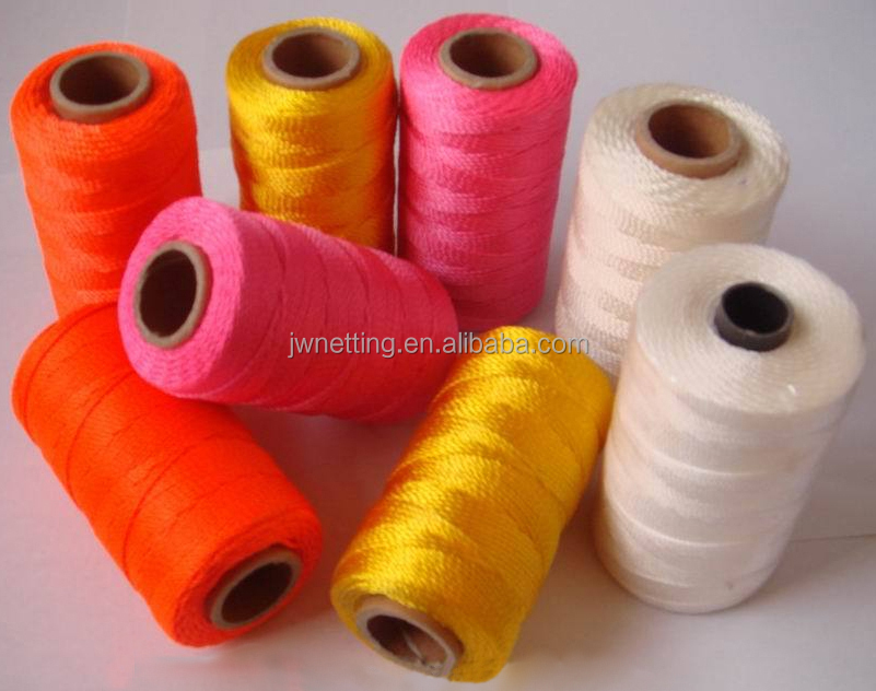 Nylon / Polyester Twine Spools, Assorted Colors, Assorted Packing Types