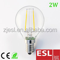 Hot new product for 2016 E14 B22 360 degree dimmable led filament bulb/led candle bulb light CE ROHS TUV