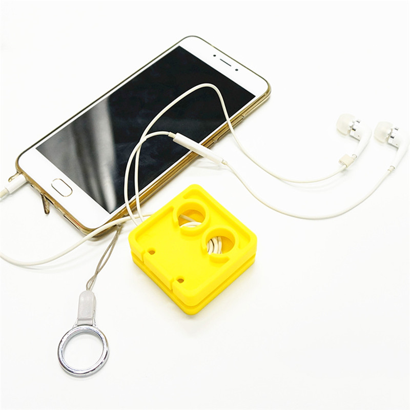 earphones cable holder clip