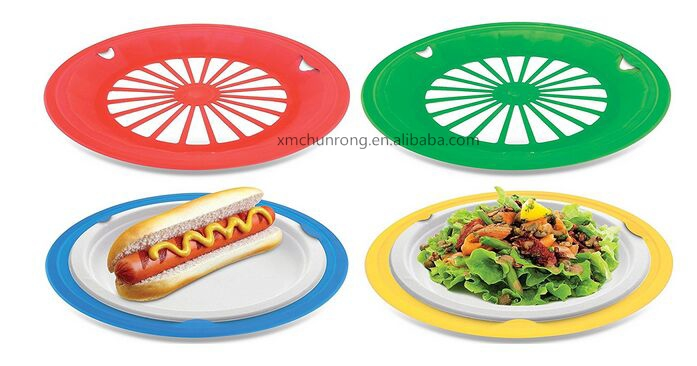 Plastic Reusable Paper Plate Holders