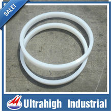 hot uhmwpe plastic round center ring flat ring gasket