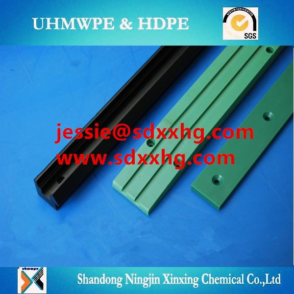 Mpe sliding bar/upe guide rail