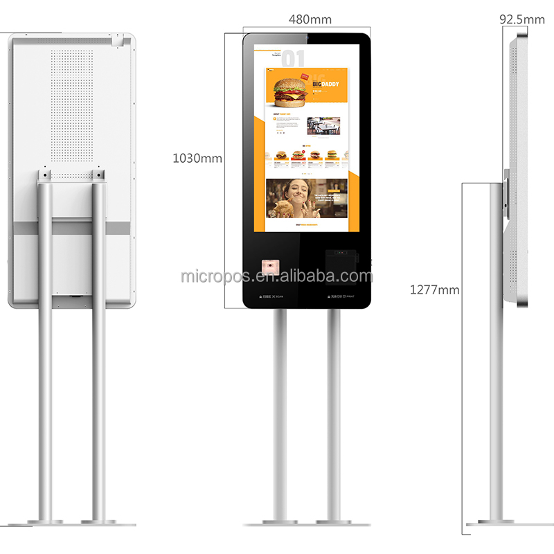 2018 China Factory Wifi Self Service Touch Screen <strong>Payment</strong>