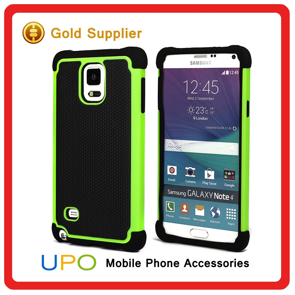 [UPO] Wholesale Shockproof Hybrid Combo Armor Cell Phone Case for Samsung Galaxy Note 4