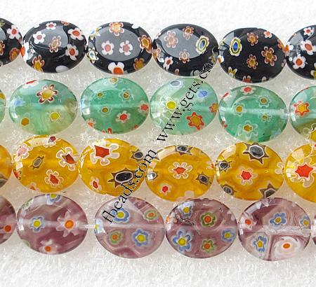 Gets.com millefiori glass bead ball gown weing resses