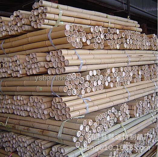 Nature Dry Straight Farming Bamboo Poles