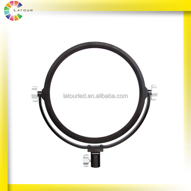 newest unique ring shaped photography tv studio light large power high lumen rechargeable led work lights handheld