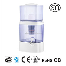 24L Low price mineral water filter pot/purifier with dome ceramic filter