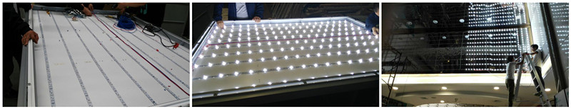 Fashionable DC12V 2835 Aluminum LED Bar with Lens