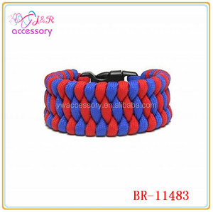New arrival NFL AFC paracord trilobite football sprot fashion bracelet