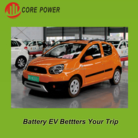 Lead Acid Battery Operated Electric Car 5 Persons Right Steering Vehicle
