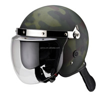 military camouflage riot police helmet