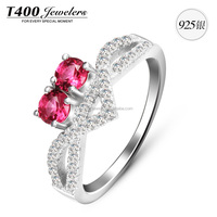 T400 925 Sterling Sliver Women Rings
