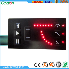 New Design LED Metal Dome Keyboard Membrane Keypad Membrane Switches