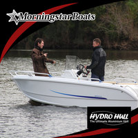 2015 New 15ft aluminum racing center steering console motor boat for sale