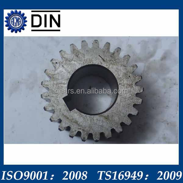 custom steel engine parts spur gears