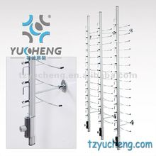 [YUCHENG]Y016-14 wall mounted eyeglasses display rod wall mount sunglasses rod