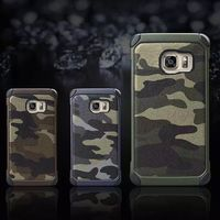 Camouflage mobile phone case for ZTE 2820 Silicone + PC 2 in 1 cases full protector
