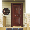 JK-AT9006 Turkey Style Front Door Designs / Standard Door Size