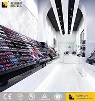 RCF1081 Super cool style, fashion cosmetic makeup shop display showcase and cabinet design for sale