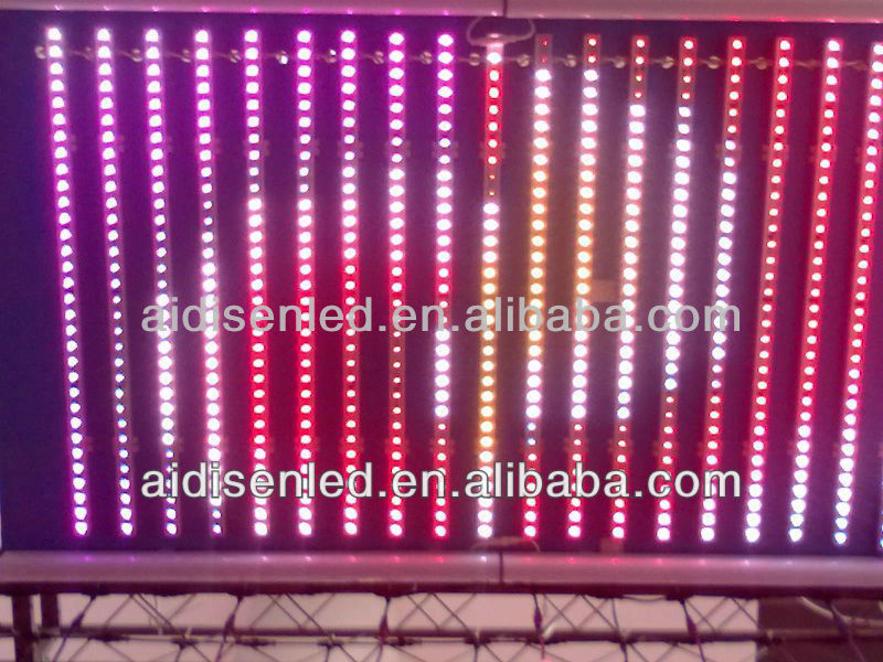 DMX512 Decoder individual addressable Programmable RGB led Strip stage DJ Dance night club