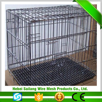 Multiple Sizes Cat Dog two door iron dog cage