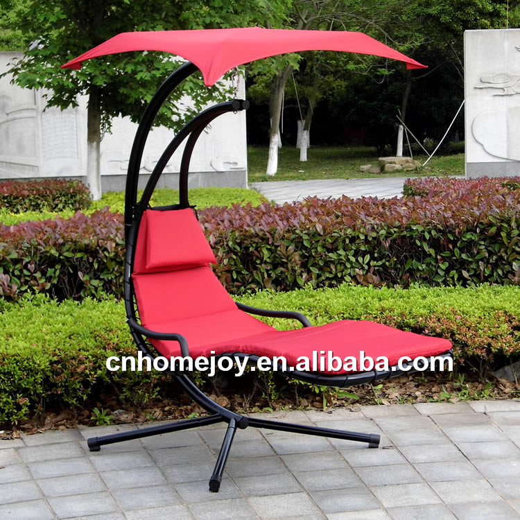 Popular outdoor metal hanging chair, helicopter swing chair for adults
