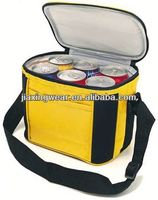 Fashion insulated wine carrier bag for shopping and promotiom