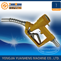 Digital fuel filling nozzle with flowmeter
