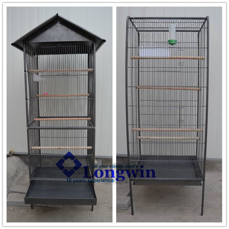 wire mesh iron pet parrot bird cage