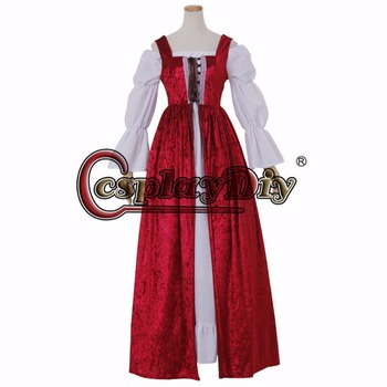 medieval dress vintage dress cosplay costume women's fancy dress custom made