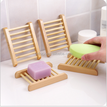 hot sale wood natural soap dish / simple shower wooden soap holder / wood soap rack