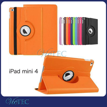 Withstand PU leather case 8 inch tablet pc case for ipad mini 4