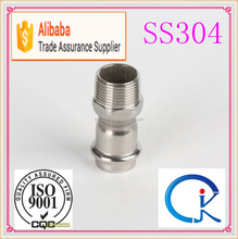 Wholesale Stainless Steel Coupling With Male Thread End Pipe Fitting