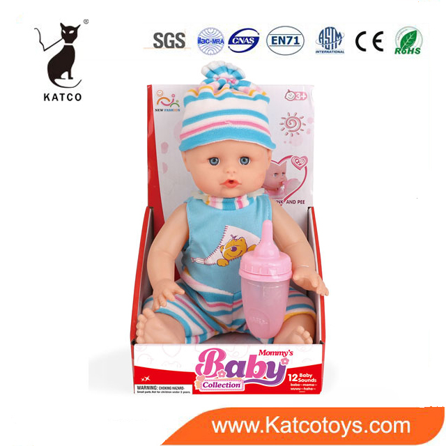 Direct Selling 13 Inch Baby Doll Interactive Talking Mini Toys Baby Pee Doll For Kids