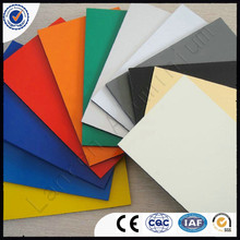 indoor/exterior decoration 6mm 7mm aluminum composite panel sheets cladding wall