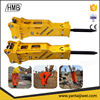 Construction Machinery Tools Hydraulic Breaker Silent Type for City Project