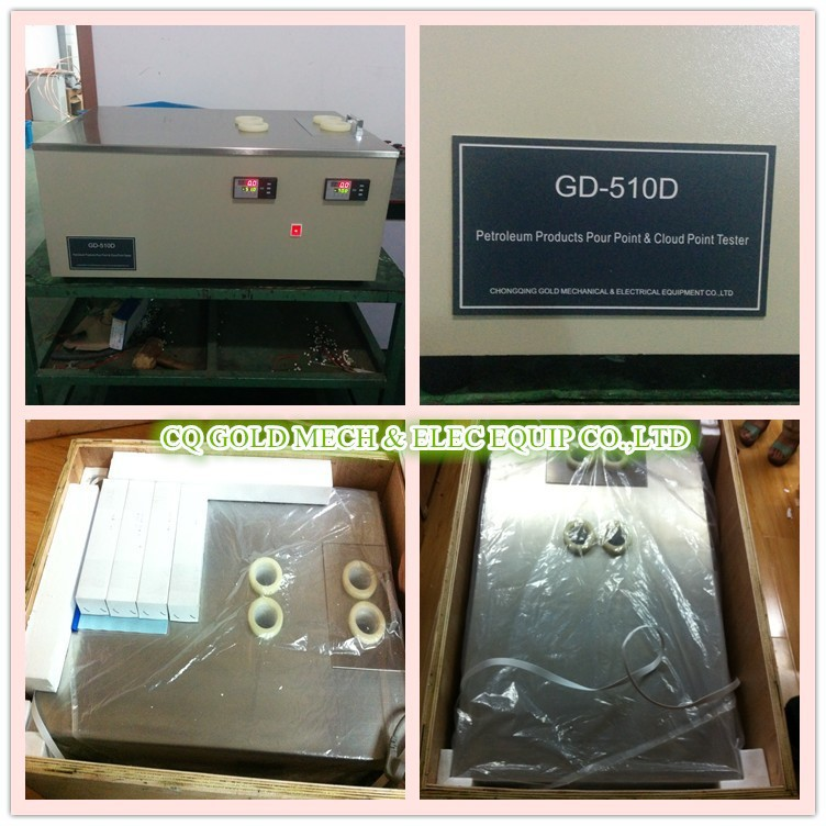GD-510D Crude Oil Pour Point and Cloud Point Test Apparatus