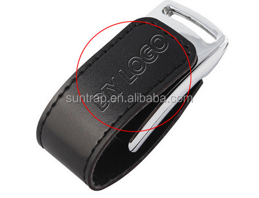 High Speed Leather Key Chain USB 3.0 Flash Drive 8gb 16GB 32gb 64gb 128gb Memory Stick Thumb Disk Drives