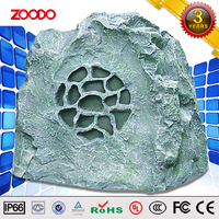 T-604 30W Outdoor Landscape Garden Rock Shape recordable Motion activated audio Speaker