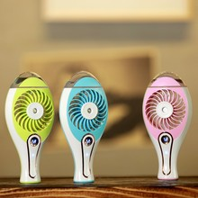 Small Spray Beauty Charge Fan Humidifier Handheld Air Conditioning Portable cooling air water mist usb rechargeble fan