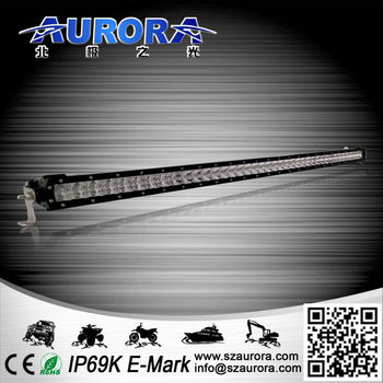 Aurora IP69K waterproof Dimmable LED light bar with 3 level brightness