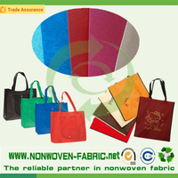 Manufacture Eco-friendly PP Nonwoven Fabric material for Making Bag in China