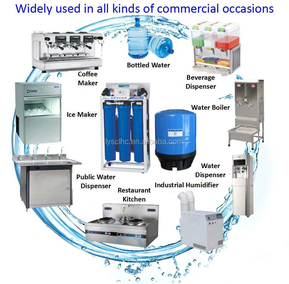 Automatic backwash filter ro system gpd view