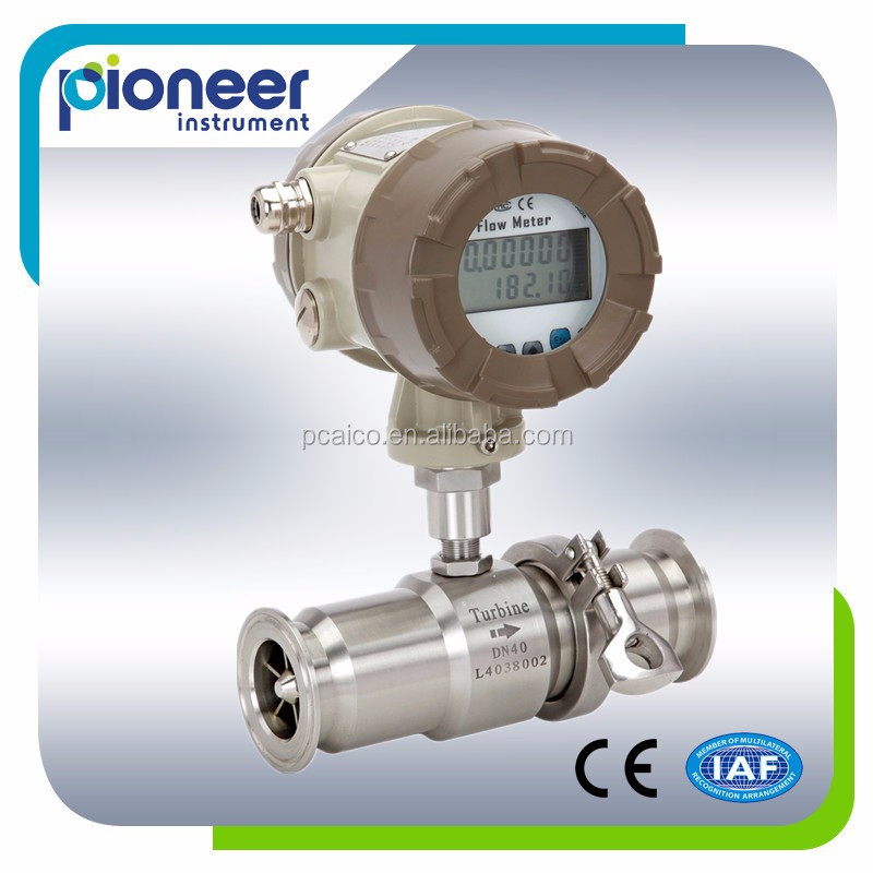 Lwgy Digital Hydraulic Turbine Diesel Flow Meter, Heavy Oil Fuel Tank Truck Flow Meter