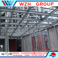 Steel structure Mediterranean style modular house/villa prefab homes from china supplier