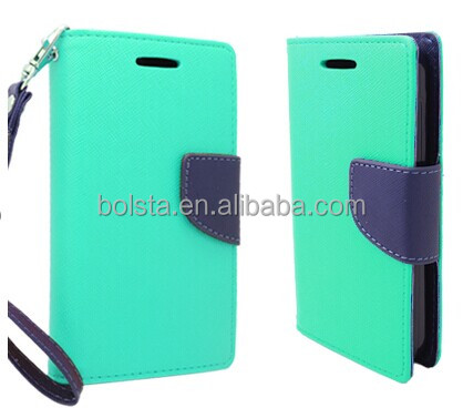for htc one m8 case factory wholesell flip pu leather cover
