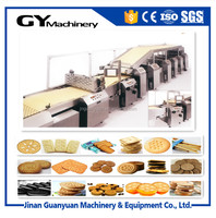 Best price high efficiency sandwich biscuit production line